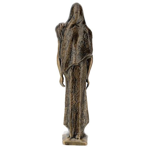Pietà in piedi statua bronzo PER ESTERNO 80 cm 11