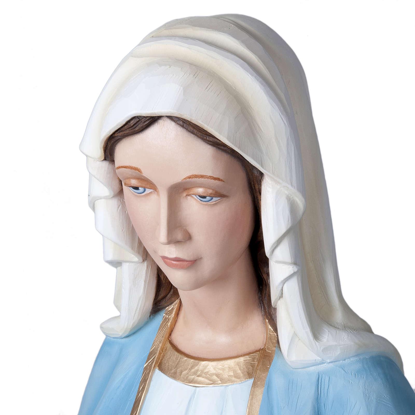 Madonna Miracolosa 160 cm vetroresina 4