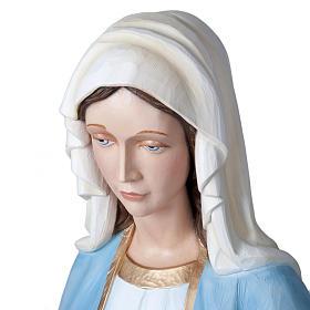 Madonna Miracolosa 160 cm vetroresina s7