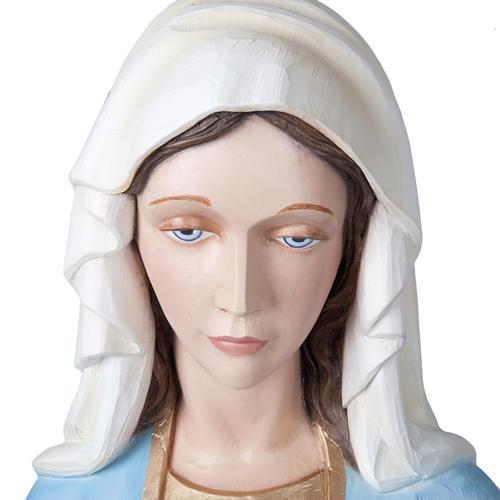 Madonna Miracolosa 160 cm vetroresina 2