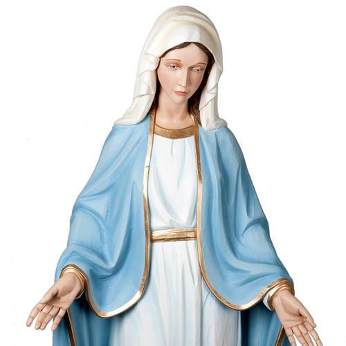 Madonna Miracolosa 160 cm vetroresina 3