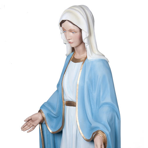 Madonna Miracolosa 160 cm vetroresina 8