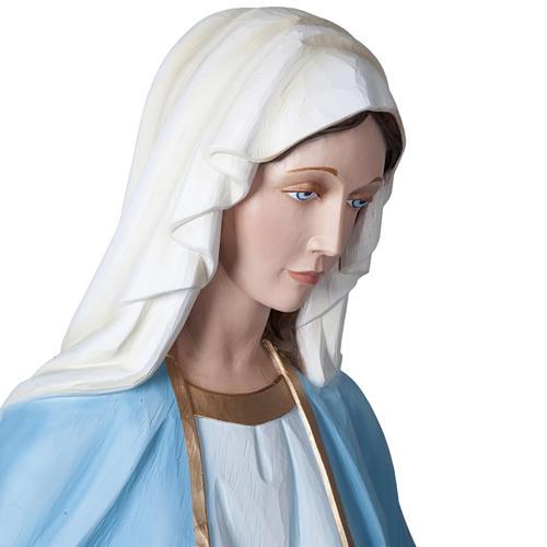 Madonna Miracolosa 160 cm vetroresina 9