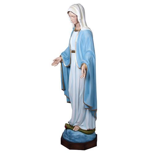 Madonna Miracolosa 160 cm vetroresina 11