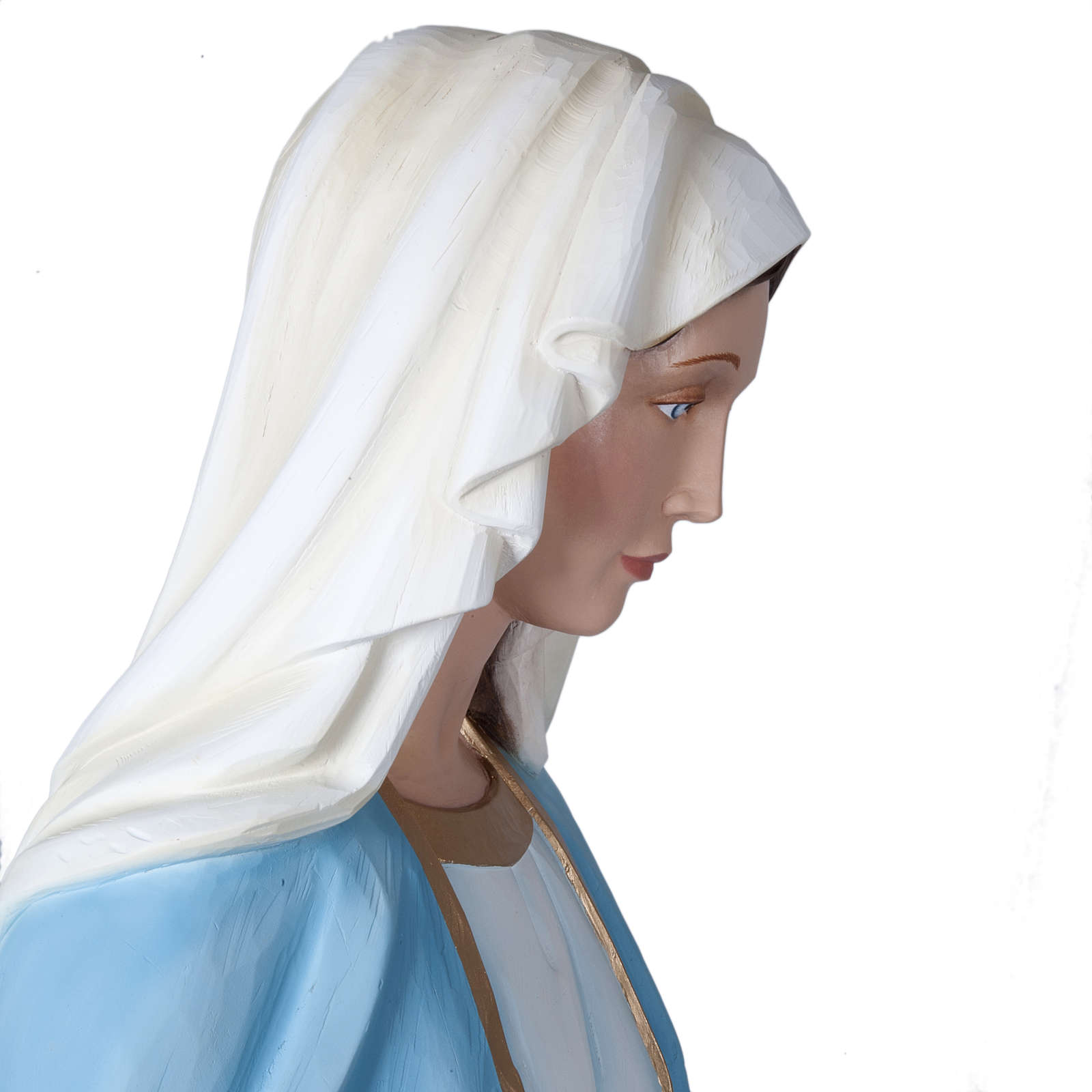 Our Lady of Miracles, fiberglass statue, 160 cm 4