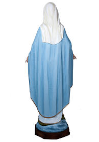 Our Lady of Miracles, fiberglass statue, 160 cm s5