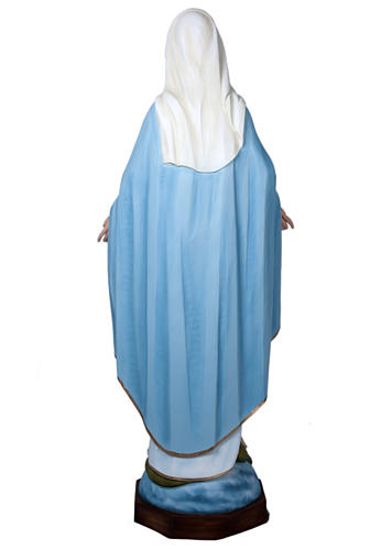 Our Lady of Miracles, fiberglass statue, 160 cm 5