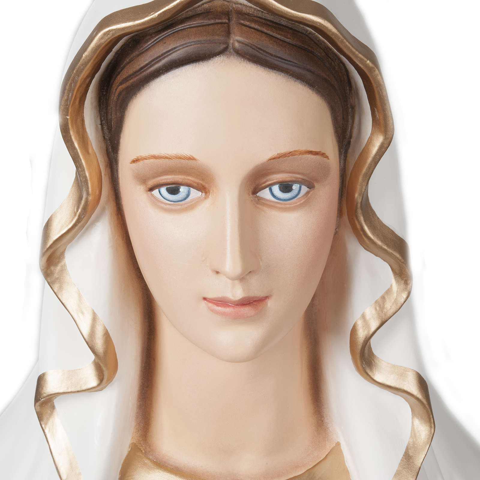 Our Lady of Lourdes, fiberglass statue, 160 cm 4