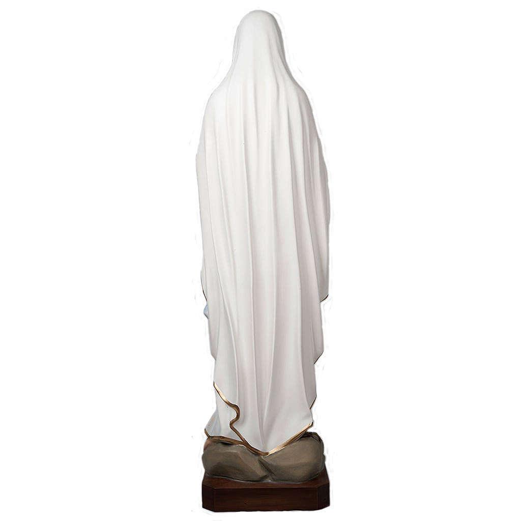 Notre Dame de Lourdes statue fibre de verre 160 cm 4