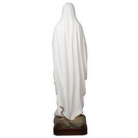 Notre Dame de Lourdes statue fibre de verre 160 cm s10