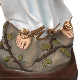 Our Lady of Lourdes, fiberglass statue, 160 cm s7