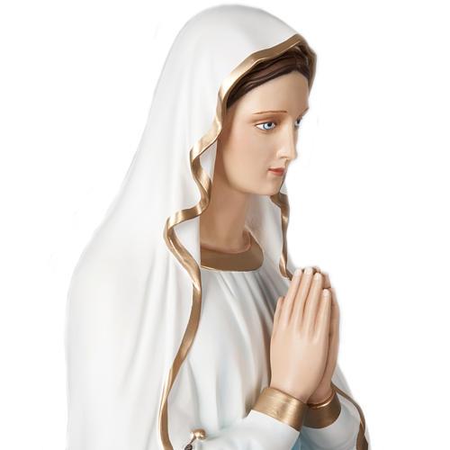 Our Lady of Lourdes, fiberglass statue, 160 cm 6