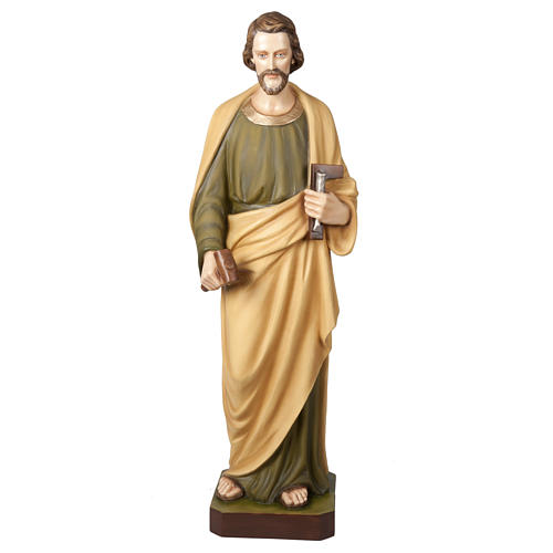 Saint Joseph the Worker  fiberglass statue, 100 cm 1