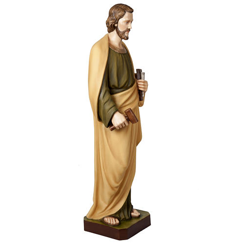 Saint Joseph the Worker  fiberglass statue, 100 cm 5