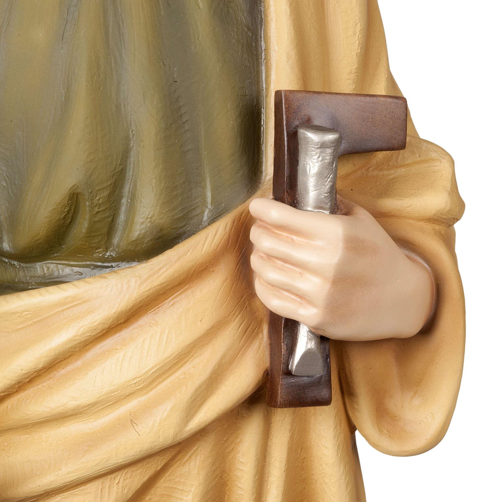 St Joseph travailleur statue fibre de verre 100 cm 4