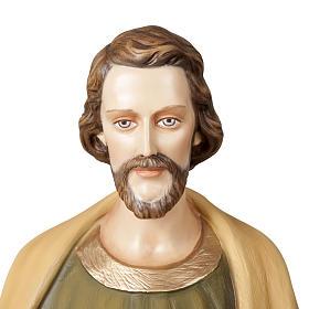 St Joseph travailleur statue fibre de verre 100 cm s2