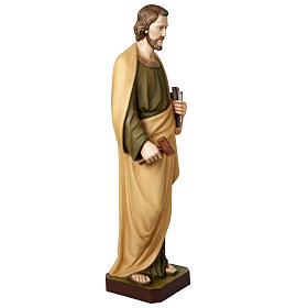 St Joseph travailleur statue fibre de verre 100 cm s5