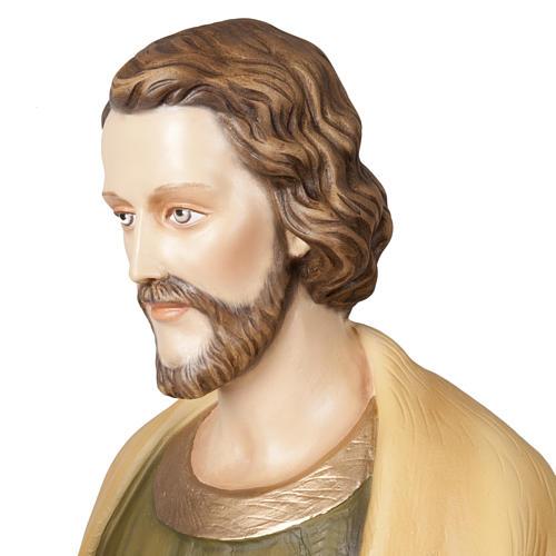 St Joseph travailleur statue fibre de verre 100 cm 6
