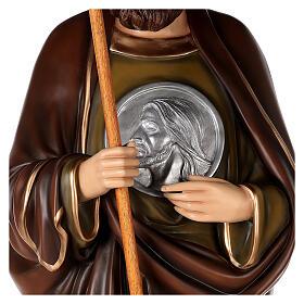 San Judas Tadeo 160cm en fibra de vidrio s6