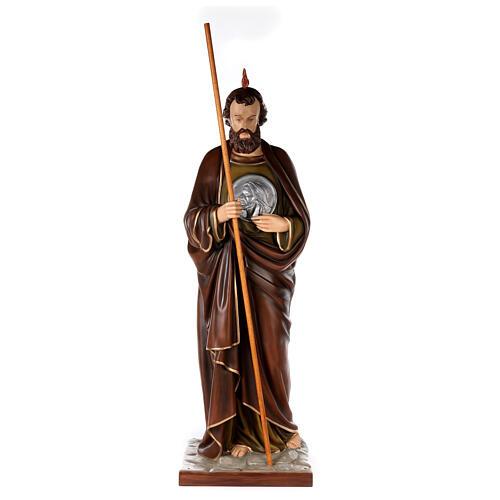 San Judas Tadeo 160cm en fibra de vidrio 1