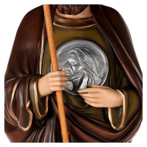 San Judas Tadeo 160cm en fibra de vidrio 6