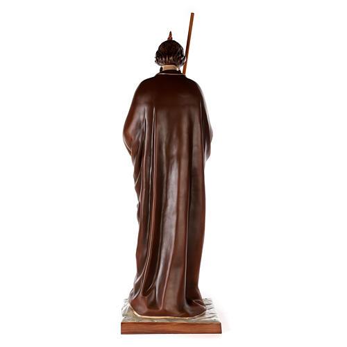 San Judas Tadeo 160cm en fibra de vidrio 7