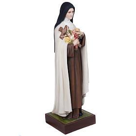 St Thérèse statue fibre de verre 100 cm s9