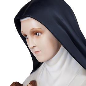 St Thérèse statue fibre de verre 100 cm s11