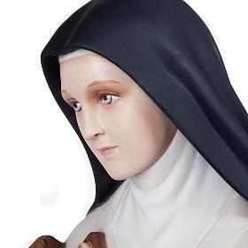 St Thérèse statue fibre de verre 100 cm s12