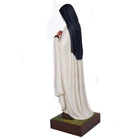 St Thérèse statue fibre de verre 100 cm s16