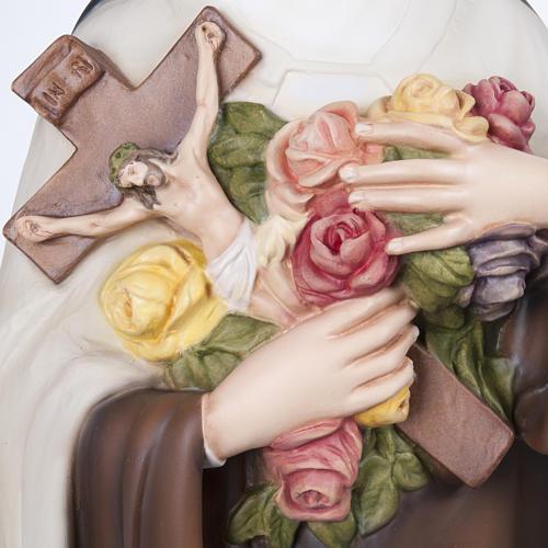 St Thérèse statue fibre de verre 100 cm 6