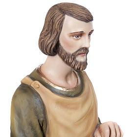 Saint Joseph the Carpenter,  fiberglass statue, 80 cm s3