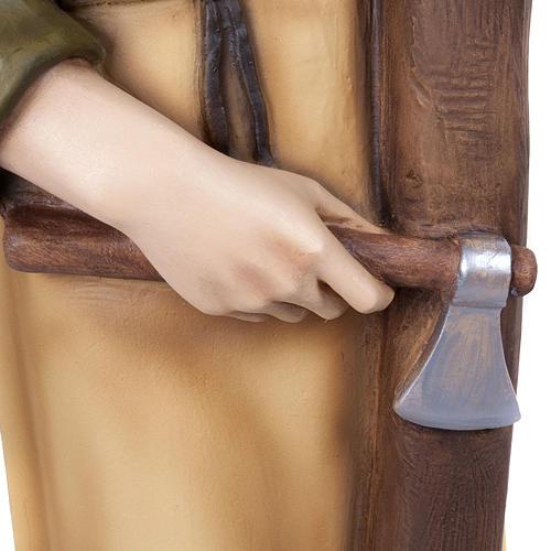 Saint Joseph the Carpenter,  fiberglass statue, 80 cm 5