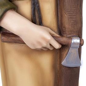 Saint Joseph the Carpenter,  fiberglass statue, 80 cm s15