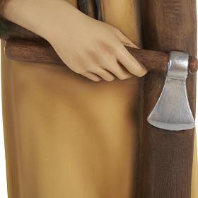 Saint Joseph the Carpenter,  fiberglass statue, 80 cm s18
