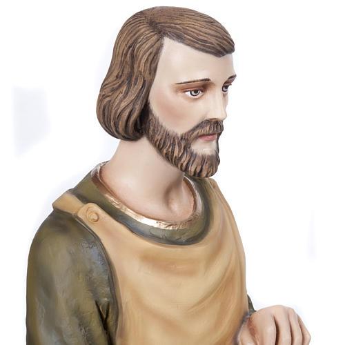 Saint Joseph the Carpenter,  fiberglass statue, 80 cm 9