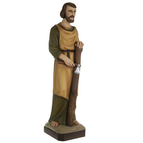 Saint Joseph the Carpenter,  fiberglass statue, 80 cm 7