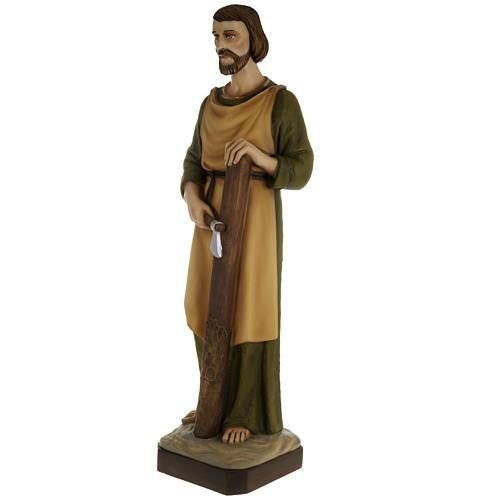 Saint Joseph the Carpenter,  fiberglass statue, 80 cm 10