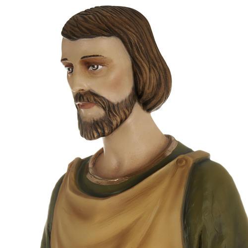 Saint Joseph the Carpenter,  fiberglass statue, 80 cm 13