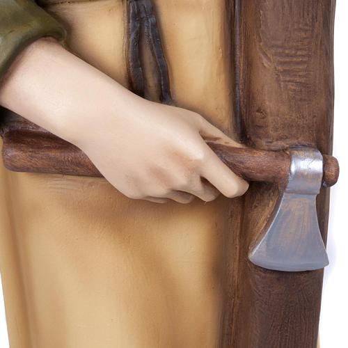 Saint Joseph the Carpenter,  fiberglass statue, 80 cm 15