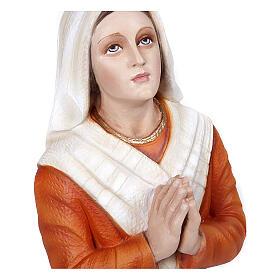 Santa Bernadette 50 cm fibra de vidro