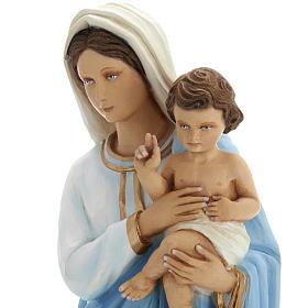 Virigin Mary and infant Jesus,  fiberglass statue, 60 cm s5