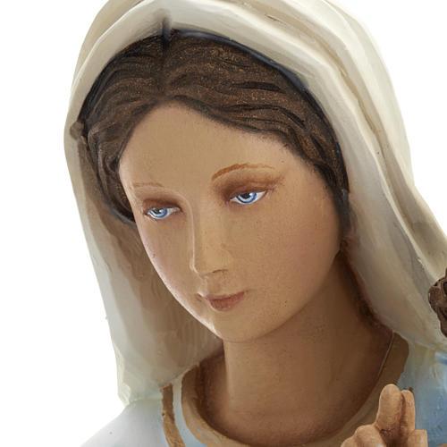 Vierge à l'enfant statue fibre de verre 60 cm 9