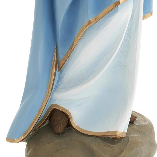 Vierge à l'enfant statue fibre de verre 60 cm 14