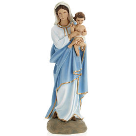 Virigin Mary and infant Jesus,  fiberglass statue, 60 cm s2