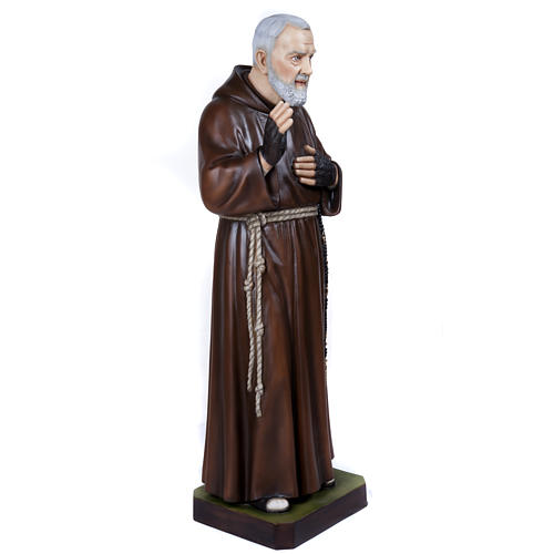 Père Pio statue fibre de verre 110 cm 7