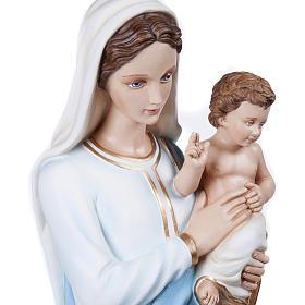 Madonna con Bambino 100 cm fiberglass s4