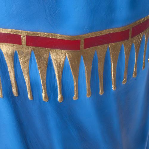 Virgen consolata 130 cm en fibra de vidrio 8