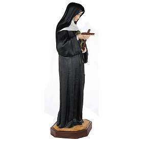 Saint Rita of Cascia,  fiberglass statue, 100 cm s5