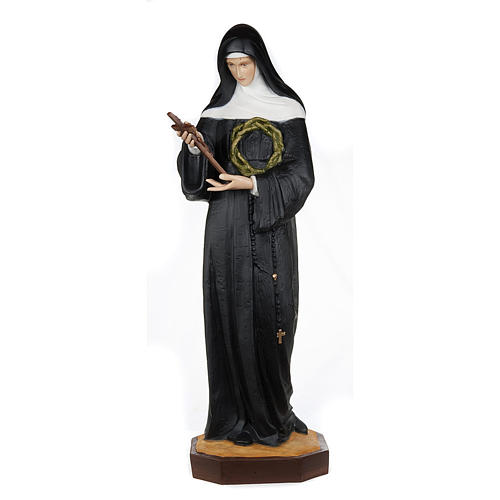Saint Rita of Cascia,  fiberglass statue, 100 cm 1